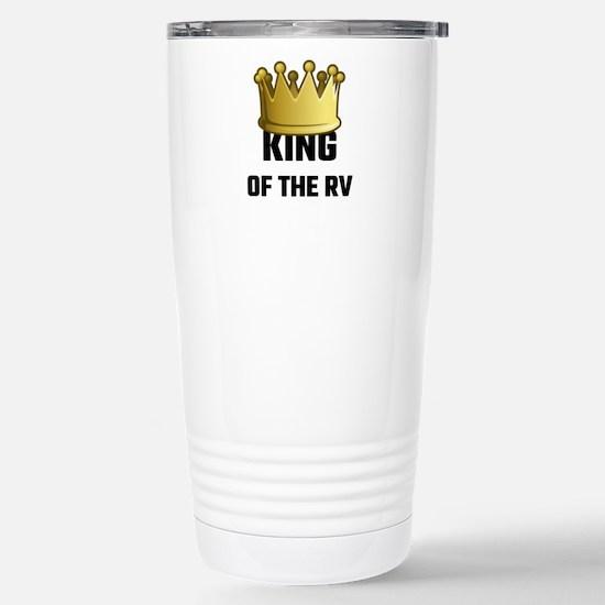 King Of The RV Stainless Steel Travel Mug