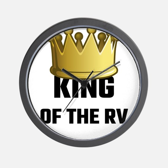King Of The RV Wall Clock