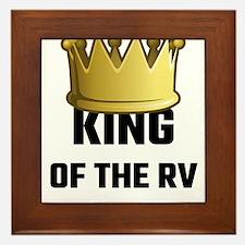 King Of The RV Framed Tile