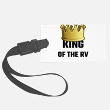 King Of The RV Luggage Tag