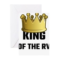 King Of The RV Greeting Cards