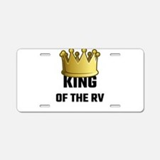 King Of The RV Aluminum License Plate