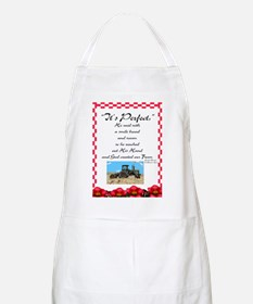 It's Perfect, He Said: BBQ Apron