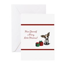 Cute Chihuahua christmas Greeting Cards (Pk of 20)