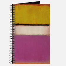 ROTHKO PINK ORANGE WHITE 4 Journal