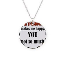 Ketchup Makes Me Happy You N Necklace