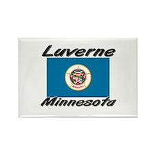 Luverne Minnesota Rectangle Magnet