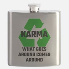 Karma What Goes Around Comes Around Flask