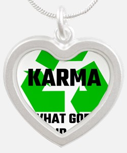 Karma What Goes Around Comes Around Necklaces