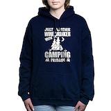 Camping Hooded Sweatshirt