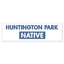 HUNTINGTON PARK native Bumper Bumper Sticker