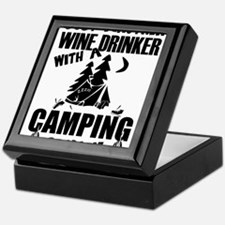 Just Another Wine Drinker With A Camp Keepsake Box