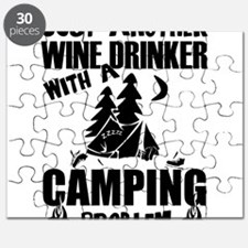 Just Another Wine Drinker With A Camping Pr Puzzle