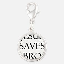Jesus Saves Bro Charms