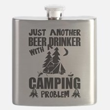 Just Another Beer Drinker With A Camping Pro Flask