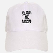 Just Another Beer Drinker With A Camping Probl Baseball Baseball Cap