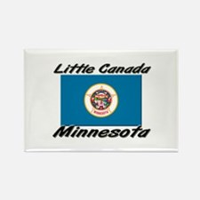 Little Canada Minnesota Rectangle Magnet