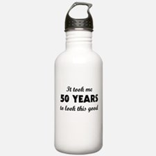It Took Me 50 Years To Water Bottle