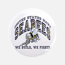 Unique Navy seabee Button