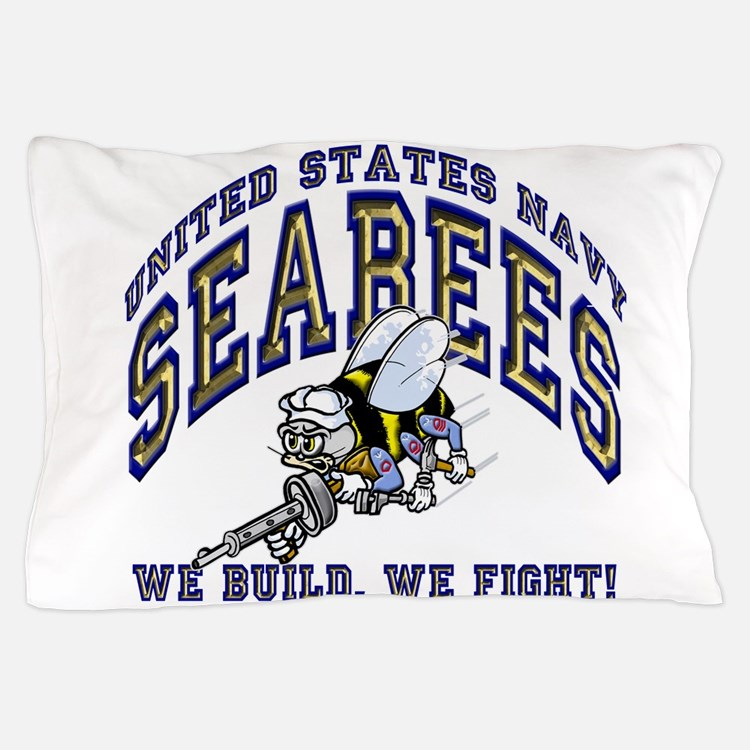 Cute Seabees Pillow Case