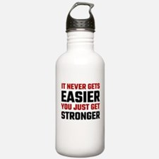 It Never Gets Easier Y Water Bottle
