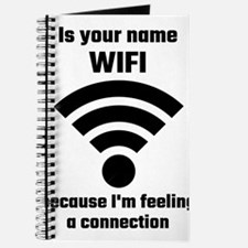 Is Your Name WIFI Because I'm Feeling A C Journal