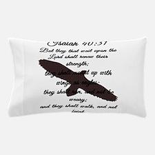Isaiah 40:31 Pillow Case
