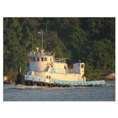 Tug Charles A Canvas Art