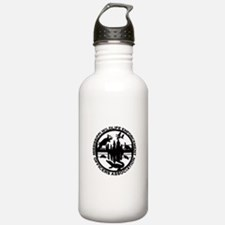 MWEOA Black Wite Water Bottle