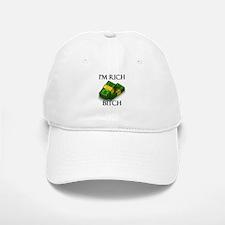 I'm Rich Bitch Baseball Baseball Cap