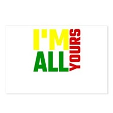 I'm All Yours Postcards (Package of 8)