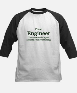 I'm an Engineer To save time Let's Baseball Jersey