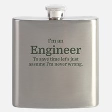 I'm an Engineer To save time Let's just assu Flask