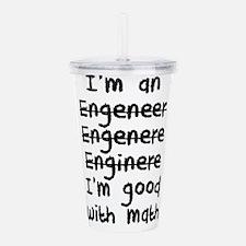 I'm An Engineer I'm Go Acrylic Double-wall Tumbler