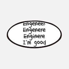 I'm An Engineer I'm Good At Math Patch