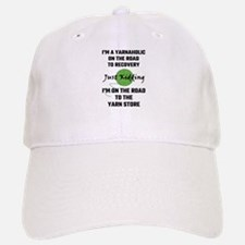 I'm A Yarnaholic On The Road To Recovery Baseball Baseball Cap
