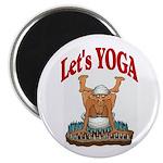 Let's Yoga Magnet