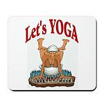 Let's Yoga Mousepad