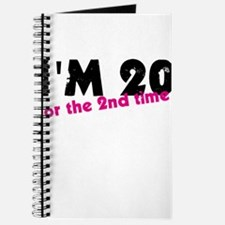 I'm 20 For The 2nd Time Journal