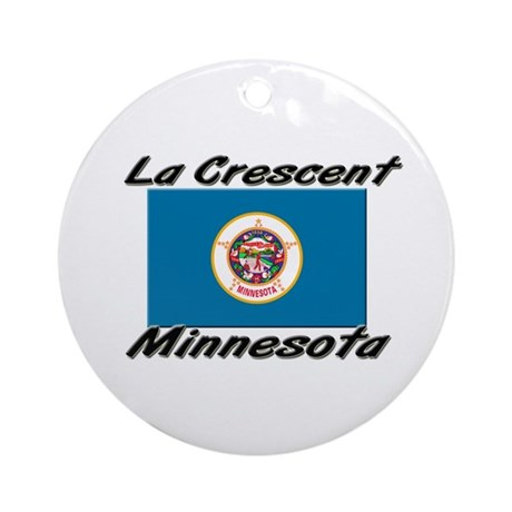 La Crescent Minnesota Ornament (Round)