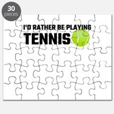 I'd Rather Be Playing Tennis Puzzle