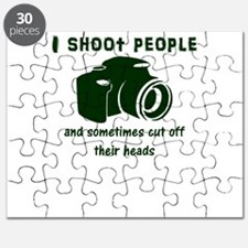 I shoot people and sometimes cut off their Puzzle