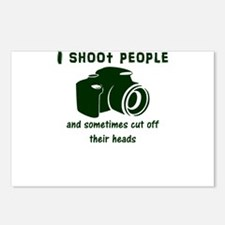 I shoot people and someti Postcards (Package of 8)