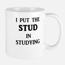 I Put The STUD in Studying Mugs