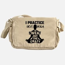 I Practice Hot Yoga To Sweat Out The Messenger Bag