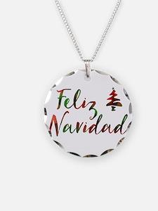 feliz navidad Necklace