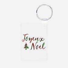joyeux noel Keychains