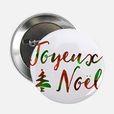 "joyeux noel 2.25"" Button (10 pack)"