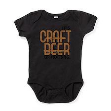 Cute Beer snob Baby Bodysuit
