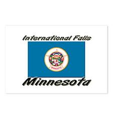 International Falls Minnesota Postcards (Package o